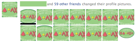 _______ and 59 other friends changed their profile pictures. TSM.