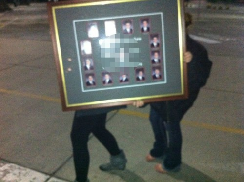 Dash & stash across campus at 4:00am with the composite we just snagged. TSM.