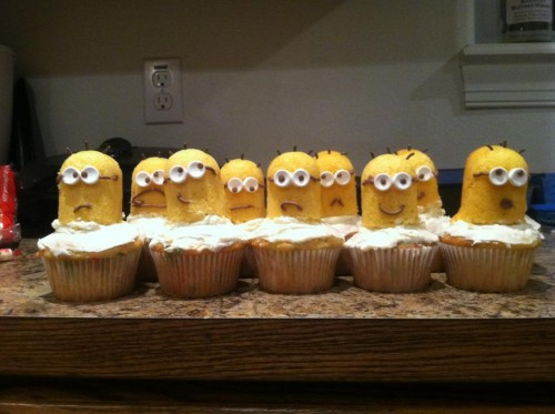 Cupcakes I baked for my frat daddies.