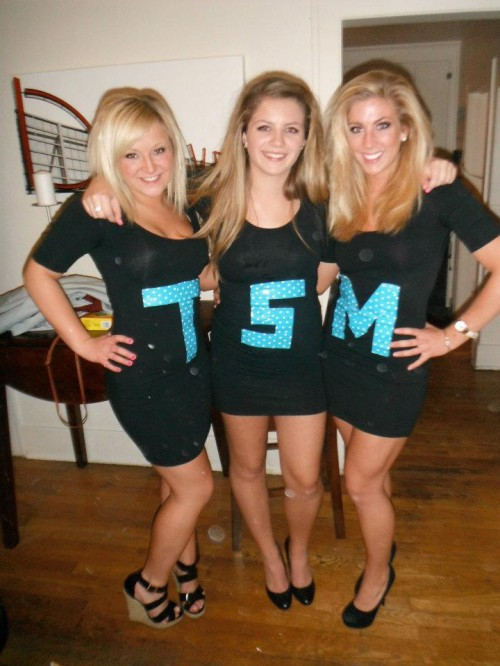 Girls in your house dressing up as TSM. TSM.