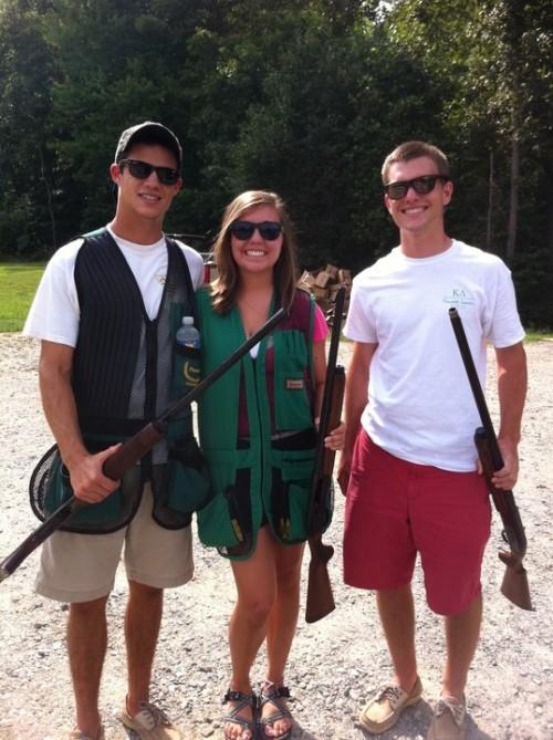 Out shooting the boys. TSM.