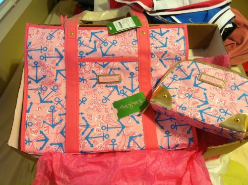 Lilly Pulitzer and Delta Gamma. TSM.