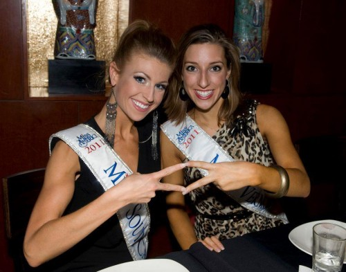 Diamonds at the Miss America Pageant. TSM.