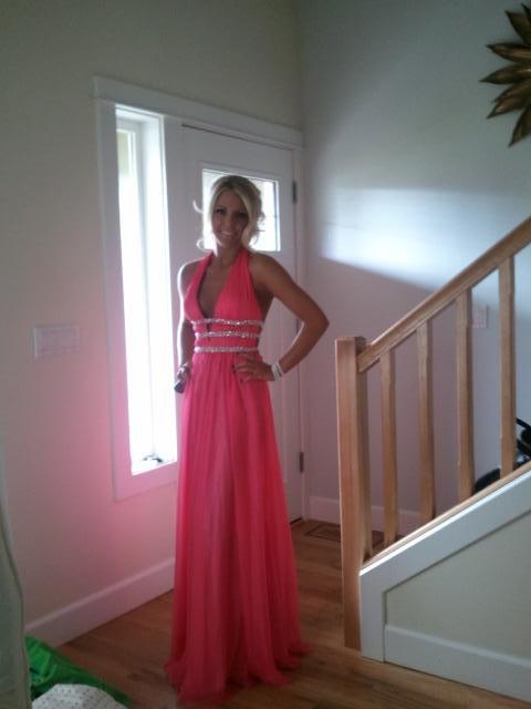 Every lady needs a pink dress. TSM.