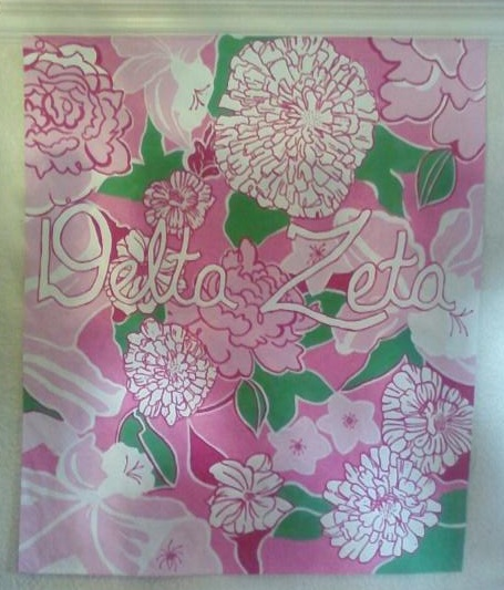 Hand painted Lilly for recruitment. TSM.
