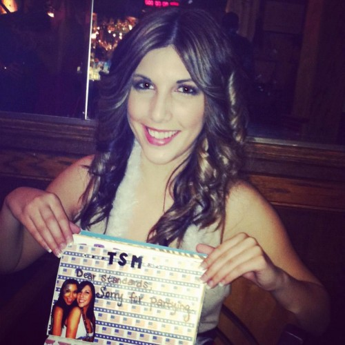 Little making you a TSM page for your sorority bar crawl book. TSM.