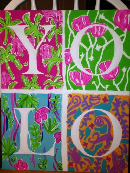 Freehand Lilly prints. TSM.