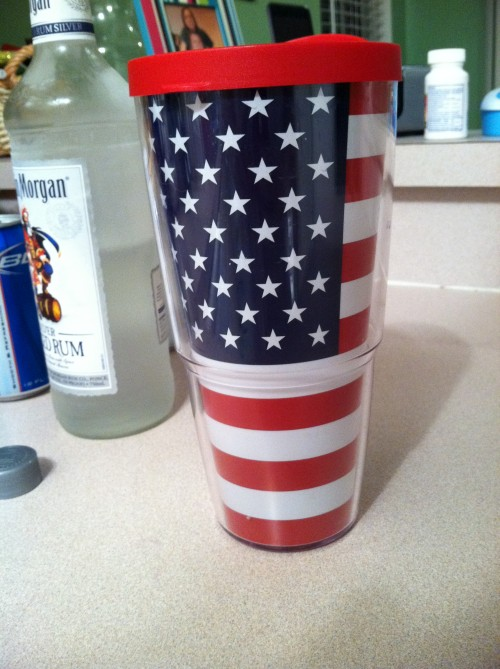 You can't send me to standards for being patriotic. TSM.