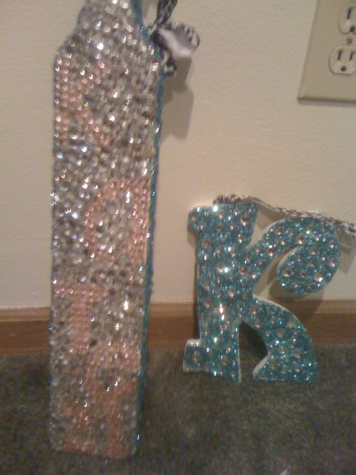 Ribbons, glitter and rhinestones are what perfect paddles are made of.