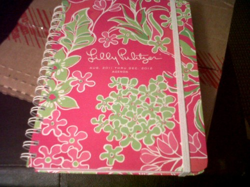 New year, new Lilly planner. TSM.