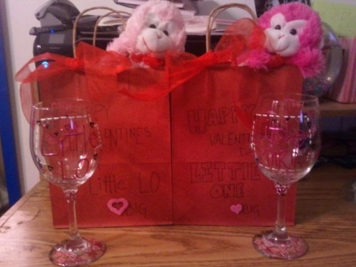 Crafting for my Twins for Valentine's Day. TSM.