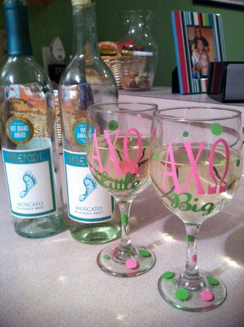 Gossiping over (two) bottles of wine. TSM.