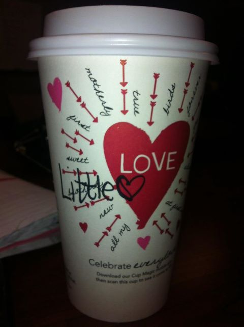 """When your Big writes """"Little"""" on your Starbucks cup instead of your name. TSM."""