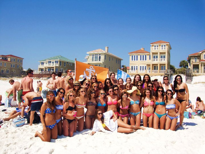 Ole Miss and MSU DG's together in Destin.