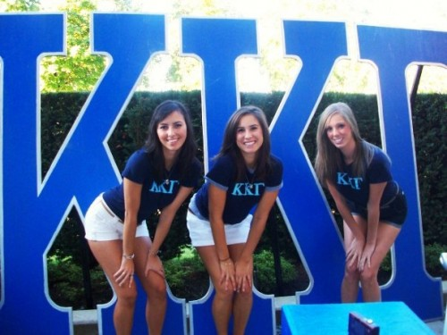 Lovin' our letters. TSM.