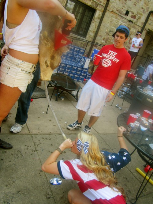 Red, white and brews. TSM.
