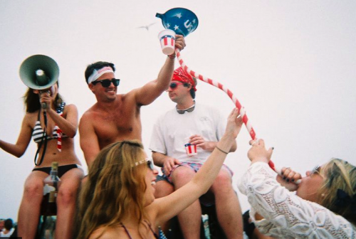 Looking forward to another patriotic 4th on Nantucket. TSM.