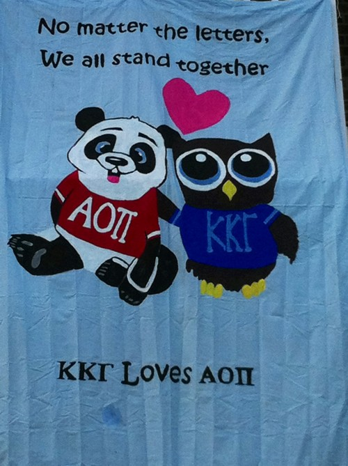 Remembering we are all Panhellenic sisters, especially in times of tragedy. TSM.