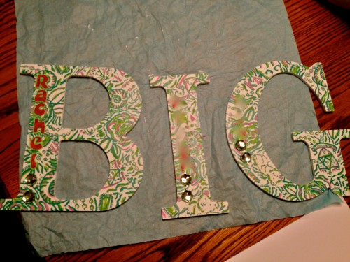 Lilly print for the Big. TSM.