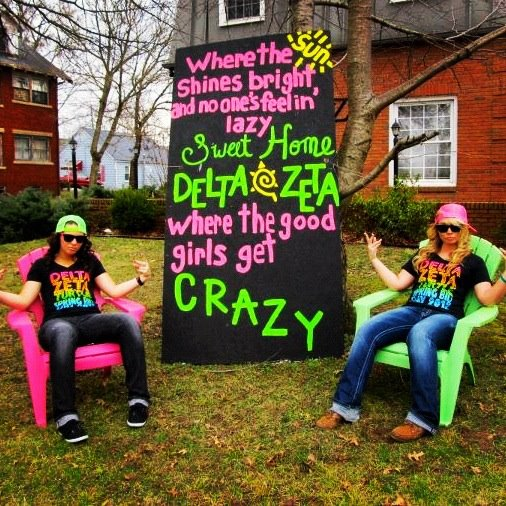 Where the good girls get crazy. TSM.