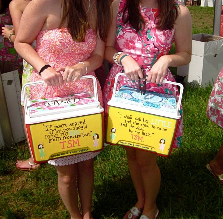 Our Big/Little coolers at Carolina Cup. TSM.