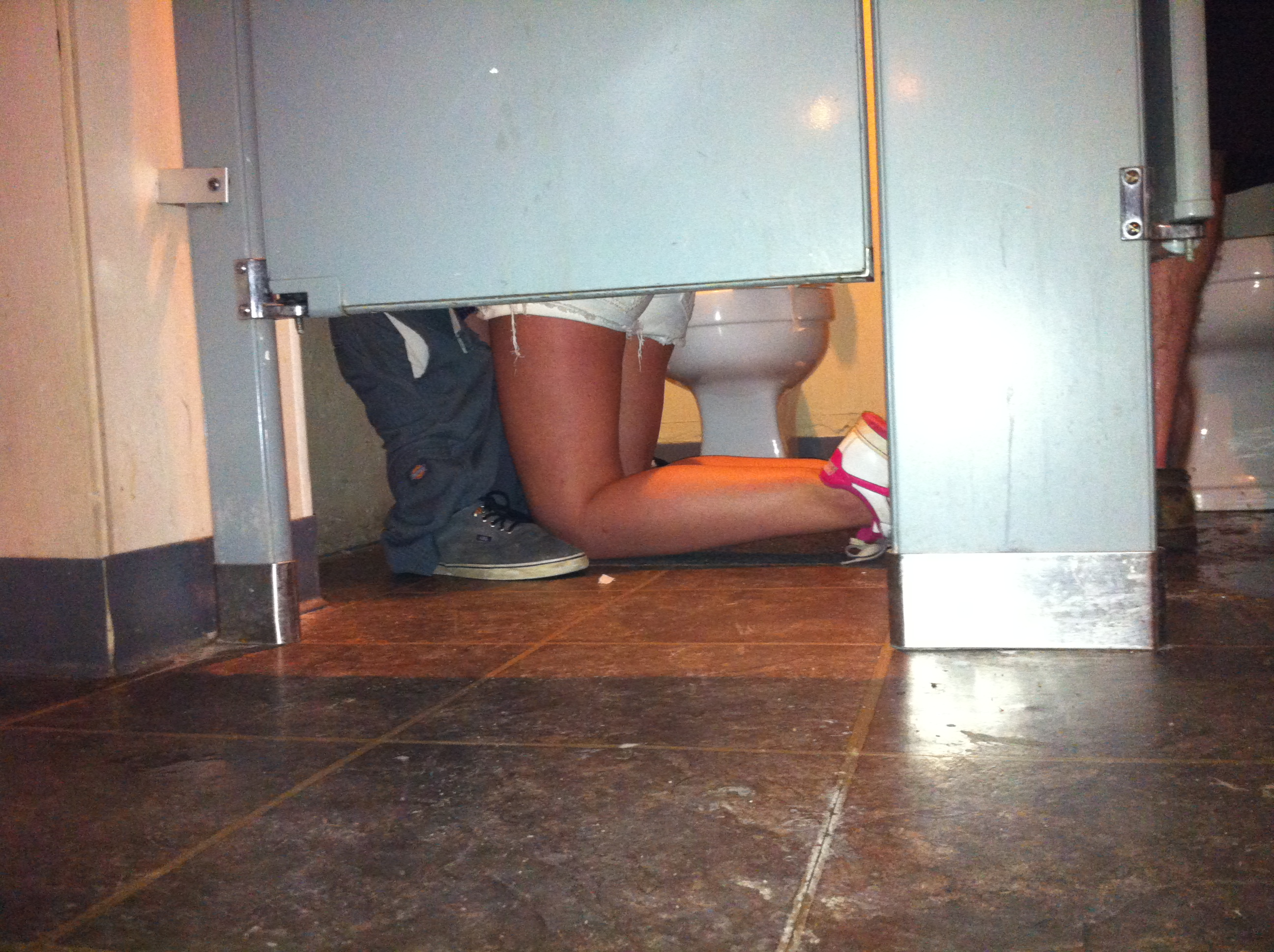 Sex in a bathroom stall photos 80