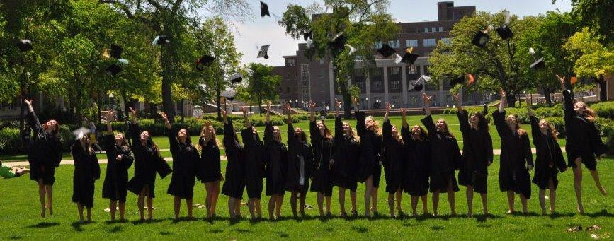 Congratulations, Class of 2012. We did it! TSM.