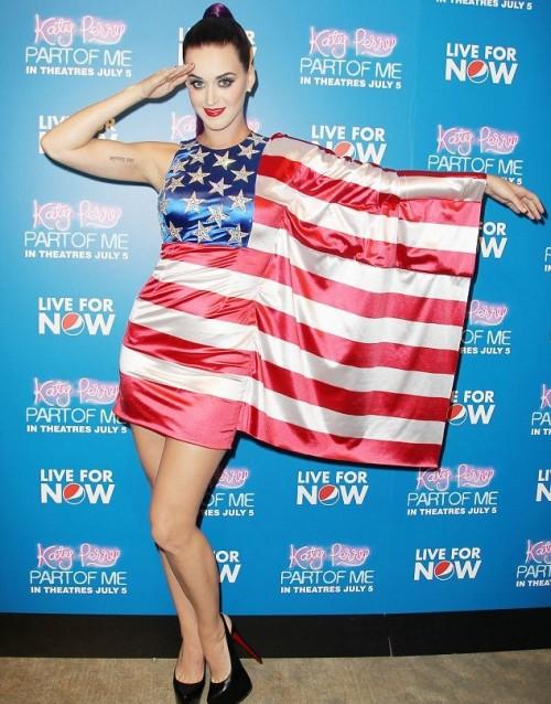 American flag dress. TSM.