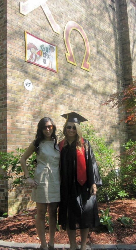 The day I was dreading all year: the day my Big graduated. TSM.
