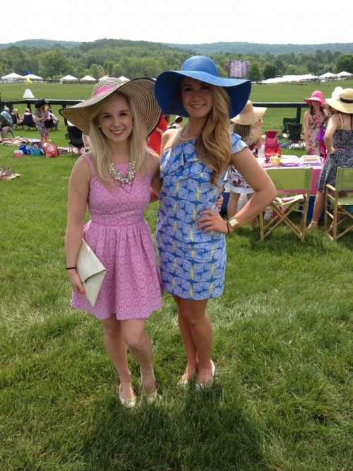 Trading in our margaritas for mint juleps this Cinco de Mayo at the Virginia Gold Cup. TSM.