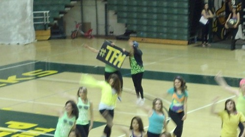 Kappa Delta's Anchorsplash performance.