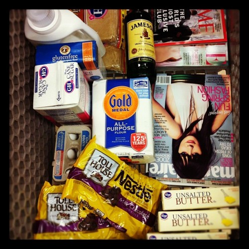 Typical grocery trip, just the essentials. TSM.