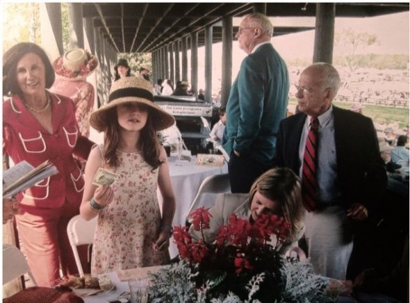 Betting at the steeplechase since the age of eight. TSM.