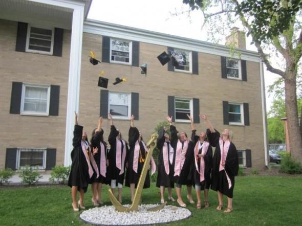 Always anchored, even after graduation. TSM.