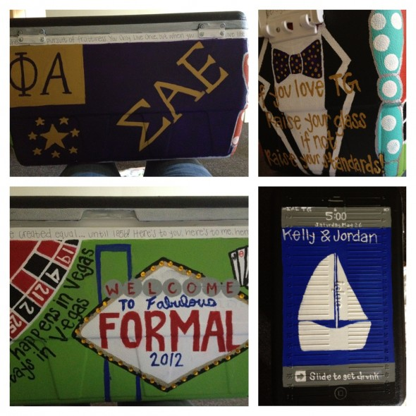 Knowing the cooler you made was the best at formal. TSM.