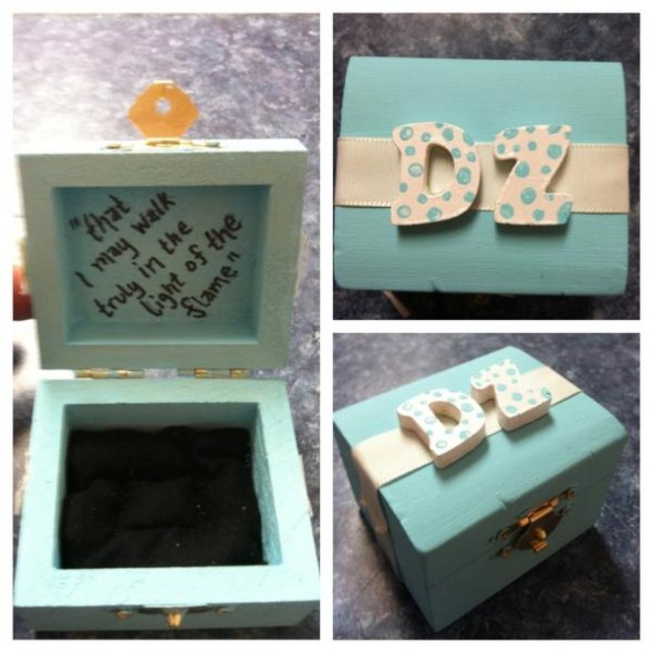 New pin boxes for my best friend and big! TSM.