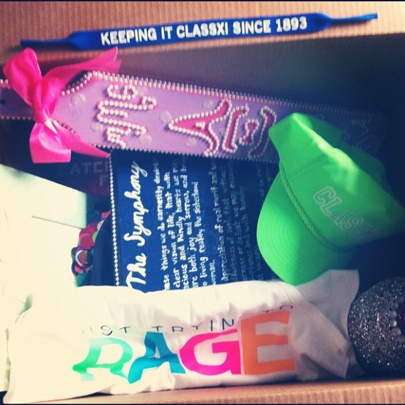 Box for my Big to keep her spoiled in the summer. TSM.