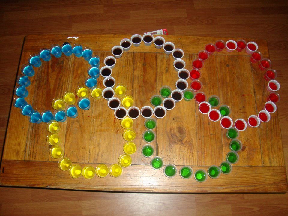 Clearly I am ready for the olympics. TSM.