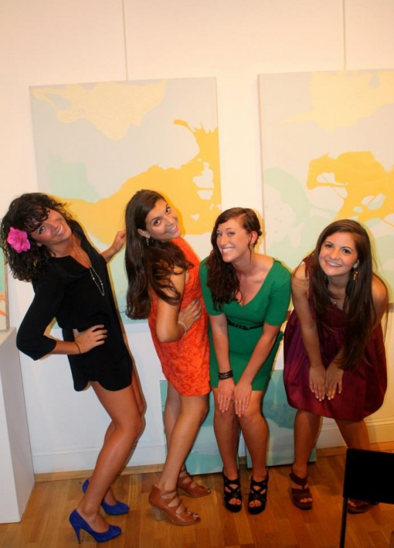 Girls photo means it's time to demonstrate the two accepted sorority picture poses. TSM.