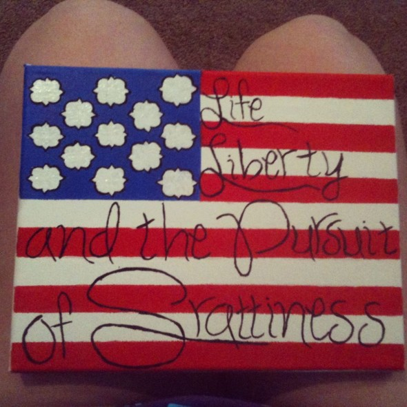 Life, Liberty, and the Pursuit of Srattiness. TSM.
