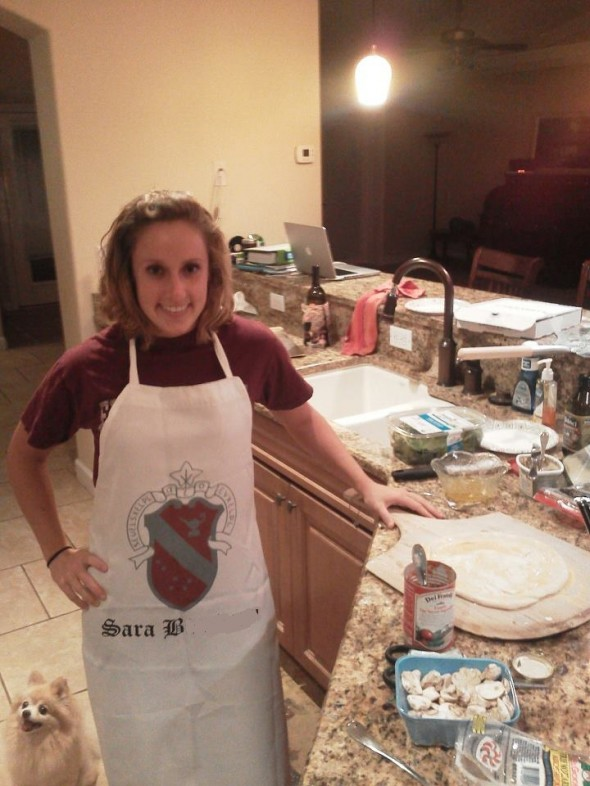Perfect gift for my perfect Little who's perfect at cooking and baking. TSM.