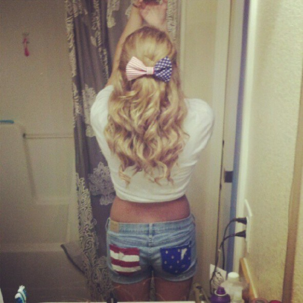 Curls, pearls, and American girls. TSM.