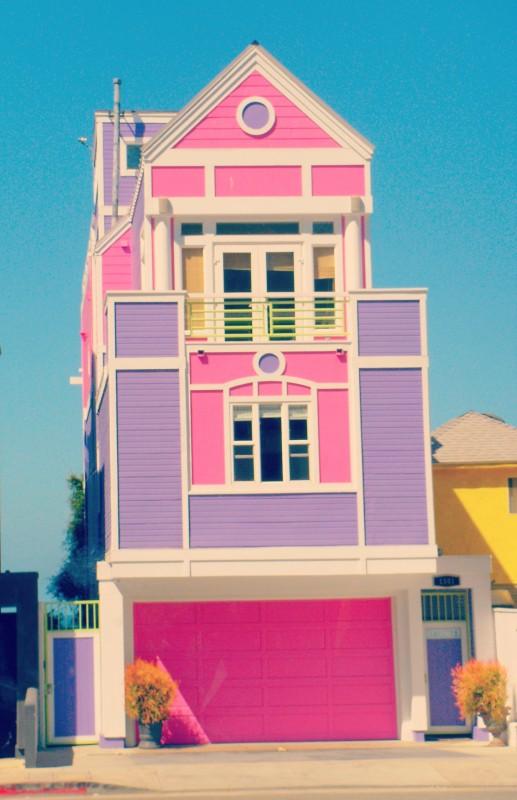 Barbie creator Ruth Handler's Santa Monica home. TSM.