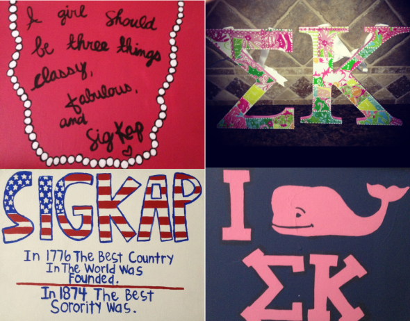 Back-to-school crafting. TSM.