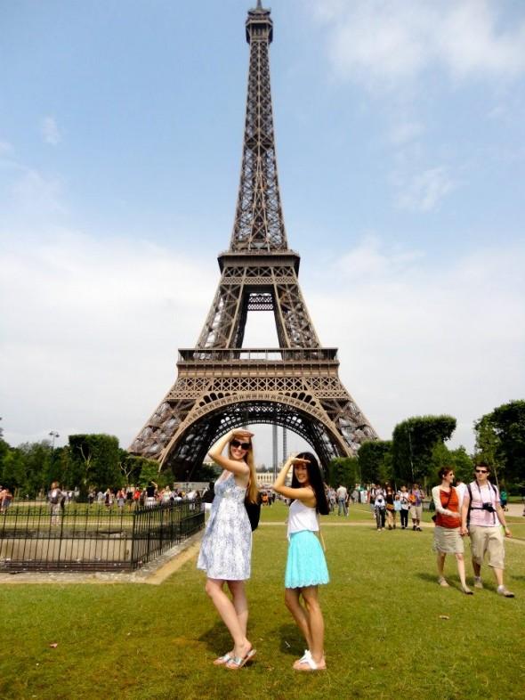 Quality Big-Little time in Paris. TSM.