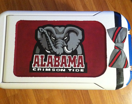 Getting ready for football season. Rollllll Tide! TSM.