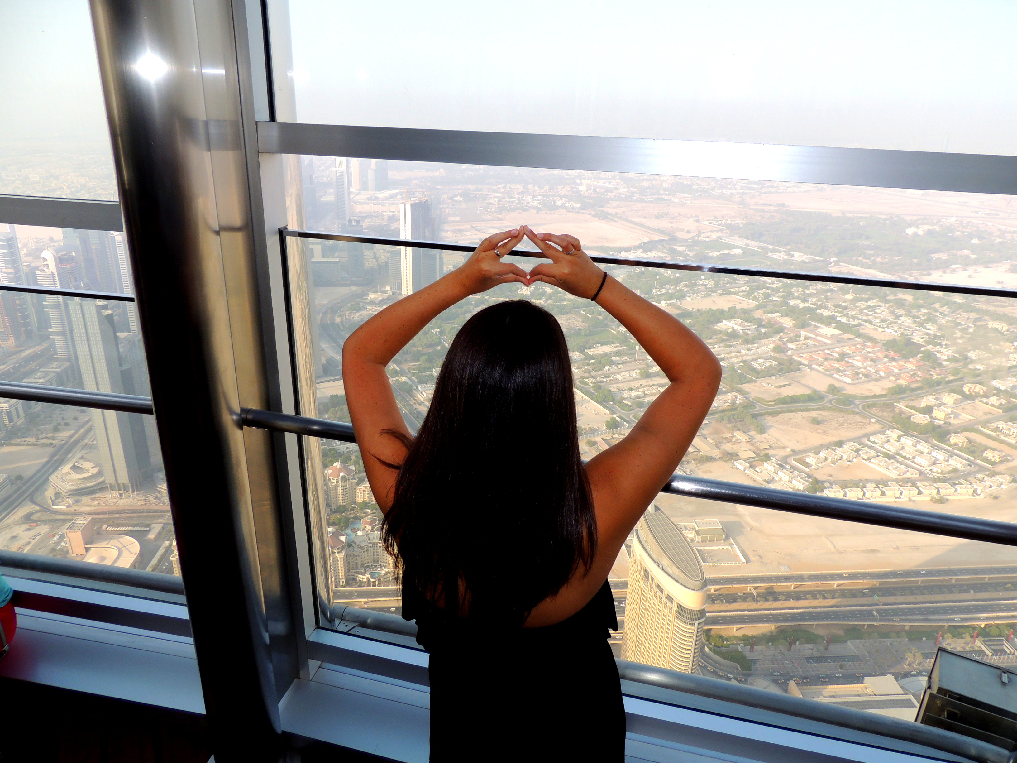 Throwing it from the top of the world's tallest building. TSM.