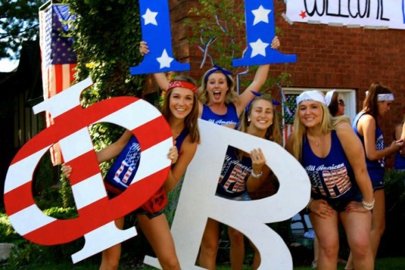 Only one day better than Christmas, and that is BID DAY! TSM.