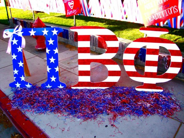 Having the letters with the most glitter on bid day. TSM.