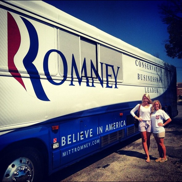 Romney girls in Romney's world. TSM.